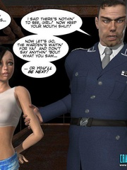 Busty 3d young school girl asked to suck cock - Cartoon Sex - Picture 2