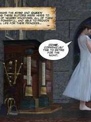Perfect body young princess asked to please - Cartoon Sex - Picture 2