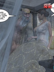 Perfect body young princess asked to please - Cartoon Sex - Picture 12