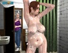 Chubby 3d milfwalking totally nude aal over the house. Tags: Huge melons,