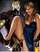 Nasty toon Iron Man fucking his girlfriend's sweet snatch. Tags: Huge