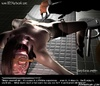 Submission art. Cruel guy tortures slave's clitoris!