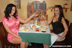 Hot lesbians wearing nothing gets her pu - XXX Dessert - Picture 2