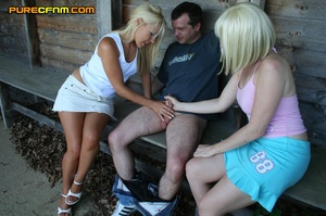 In this free cfnm story girls ask a stra - XXX Dessert - Picture 18