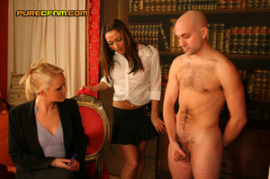 She asks him to cum in front of all thes - XXX Dessert - Picture 14