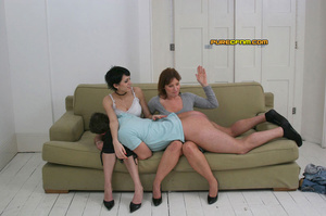 He gets spanked and his dick get stroked - XXX Dessert - Picture 10