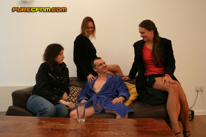 Your own cfnm story: curious girls wonde - XXX Dessert - Picture 5