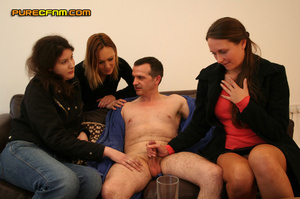 Your own cfnm story: curious girls wonde - XXX Dessert - Picture 16