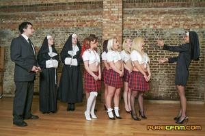 New free cfnm story: catholic schoolgirl - XXX Dessert - Picture 1