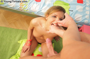 Eager blonde babe gives a really good fe - XXX Dessert - Picture 6