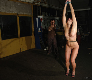 Perverted master whipping his handcuffed - Unique Bondage - Pic 3