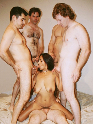 Busty Indian Teen On Sofa In Orgy Gives  - XXX Dessert - Picture 3