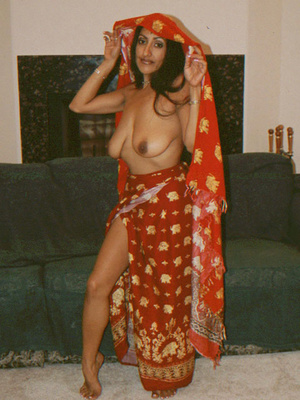 Busty Indian Teen On Sofa In Orgy Gives  - XXX Dessert - Picture 9