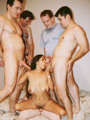 Busty Indian Teen On Sofa In Orgy Gives  - XXX Dessert - Picture 12