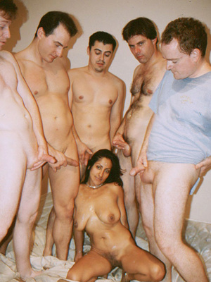 Busty Indian Teen On Sofa In Orgy Gives  - XXX Dessert - Picture 14