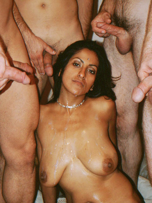 Busty Indian Teen On Sofa In Orgy Gives  - XXX Dessert - Picture 15