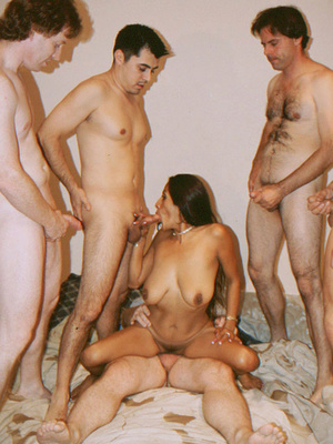 Busty Indian Teen On Sofa In Orgy Gives  - XXX Dessert - Picture 16