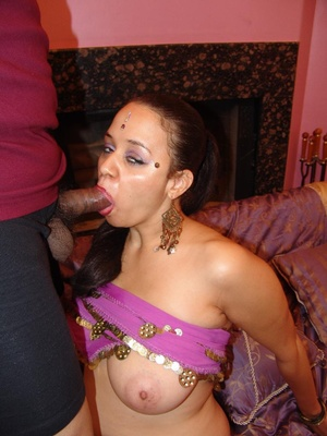 Chubby Indian With Saggy Tits Rides Cock - XXX Dessert - Picture 8