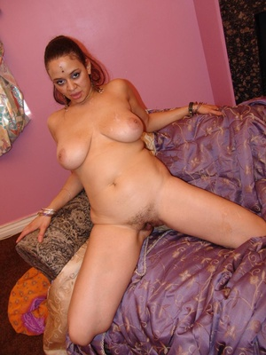 Chubby Indian With Saggy Tits Rides Cock - XXX Dessert - Picture 13