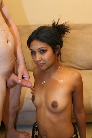 Exotic Indian model Monkia swallowing a  - XXX Dessert - Picture 14