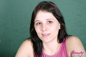 Old young sex. Brunette teenage beauty f - XXX Dessert - Picture 2