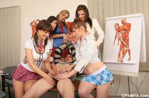 Perfect body school babes having fun whi - XXX Dessert - Picture 11