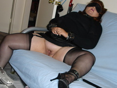 Amateur chained and handcuffed babes forced - Unique Bondage - Pic 5