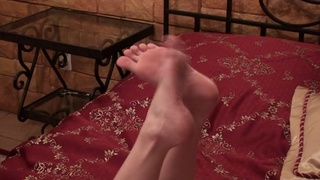 adorable erotic foot fetish