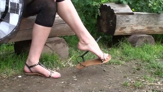 foot fetish video young