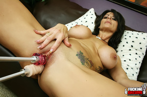 Amazing pics of tattoed milf with huge t - Picture 3
