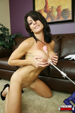 Busty dark haired bimbo undressing and e - XXX Dessert - Picture 11