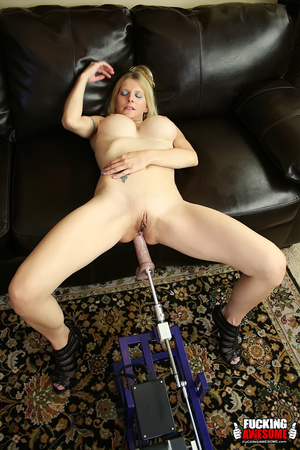 Busty naked milf blonde needs two dildos - XXX Dessert - Picture 13