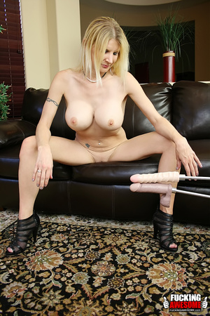 Sex hungry mature blonde undressing and  - XXX Dessert - Picture 6