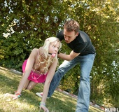 Rough fuck pics of cute blonde teen suffering humiliation and hardcore