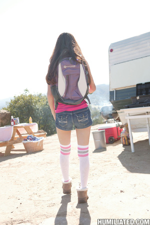 Little brunette teen learns to be obedie - XXX Dessert - Picture 2