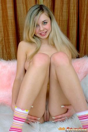 Perfect ass blonde teen