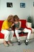 Perky tits redhead teen bibmo in white stockings enjoying older pecker