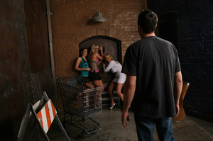 CFNM party pics of three sex hungry girl - XXX Dessert - Picture 1