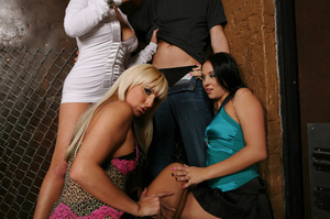 CFNM party pics of three sex hungry girl - XXX Dessert - Picture 4