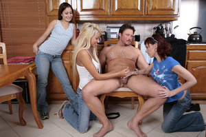 Birthday stipper guy undressed and gets  - XXX Dessert - Picture 12