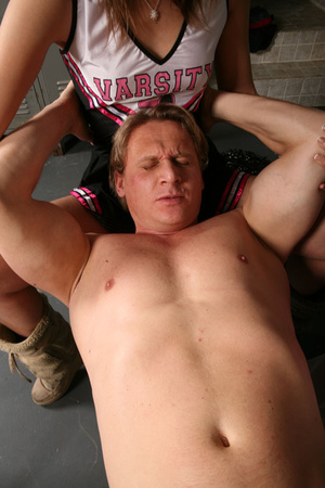 Muscular coach received best tugjob of h - XXX Dessert - Picture 12