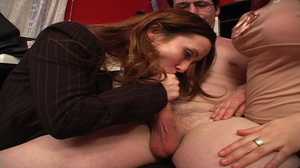 Older guy enjoying awesome CFNM action w - XXX Dessert - Picture 5