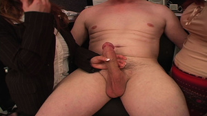 Older guy enjoying awesome CFNM action w - XXX Dessert - Picture 15