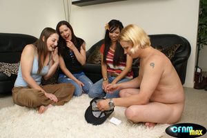 Blonde guy slowly taking off all his clo - XXX Dessert - Picture 3