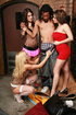 Undressed and humilited guy gets involved in hot CFNM action in the basement.