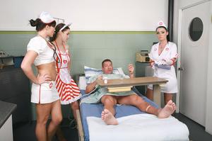 Three stunning nurses captured and humil - XXX Dessert - Picture 2