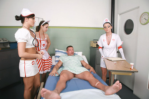 Three stunning nurses captured and humil - XXX Dessert - Picture 5