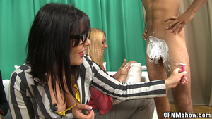 Tattoed guy doesn't mind his dick sucked - XXX Dessert - Picture 7