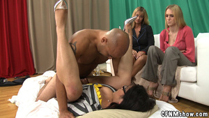 Tattoed guy doesn't mind his dick sucked - XXX Dessert - Picture 14