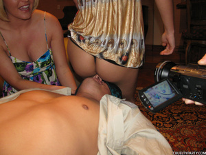 Drunk party hotties with perfect boobs e - XXX Dessert - Picture 3